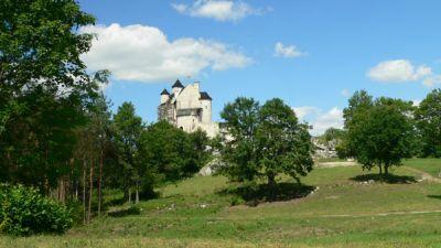 Zamek w Bobolicach for. Lowell