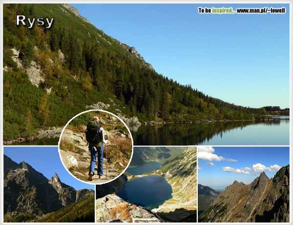 Rysy - najwyższy szczyt w Polsce