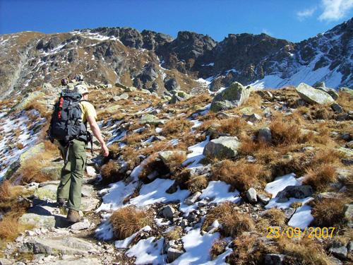 Dolina 5 Stawów oraz piekielnie śliskie Szpiglasowe Perci
