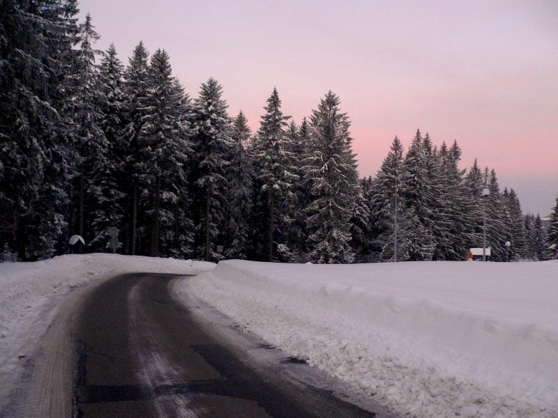 Droga na Przełęcz Glinne