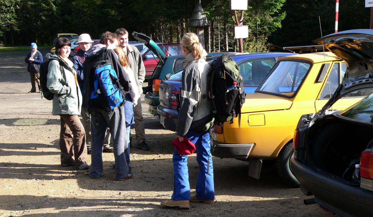 Parking Krowiarki