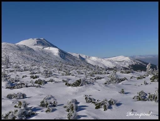 Babia Góra - epoka lodowcowa...