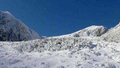 Podejście na Banikove Siodło, czyli Banikową Przełęcz