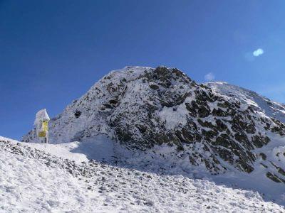 Na Banikowej Przełęczy - widok w stronę Banikowa