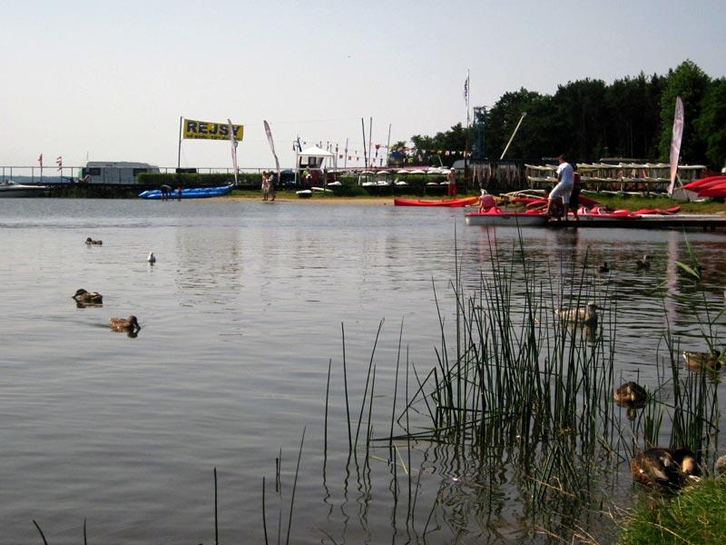 Jezioro Bukowo - Dąbki