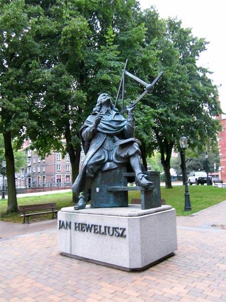 Pomnik Heweliusza w Gdańsku