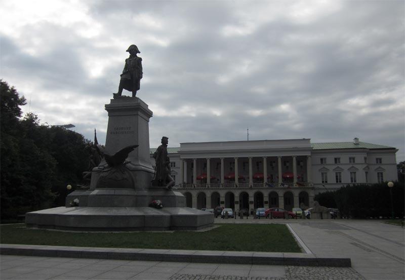 Pomnik Tadeusza Kościuszki w Warszawie