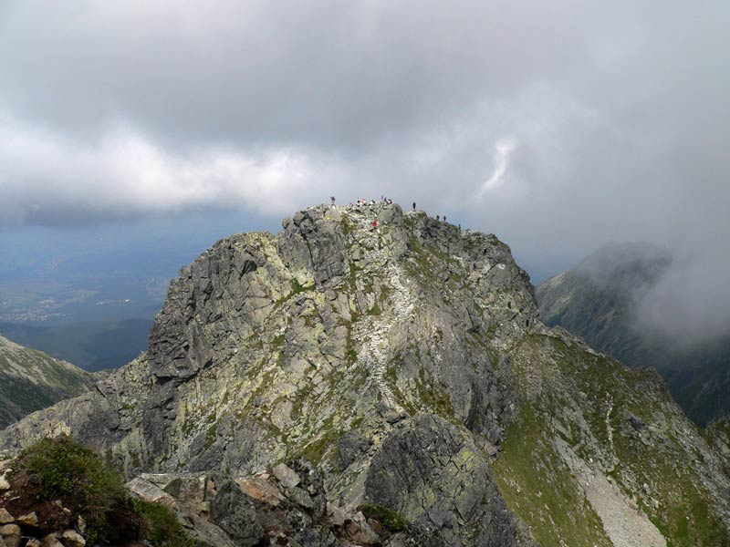 Granaty w Tatrach