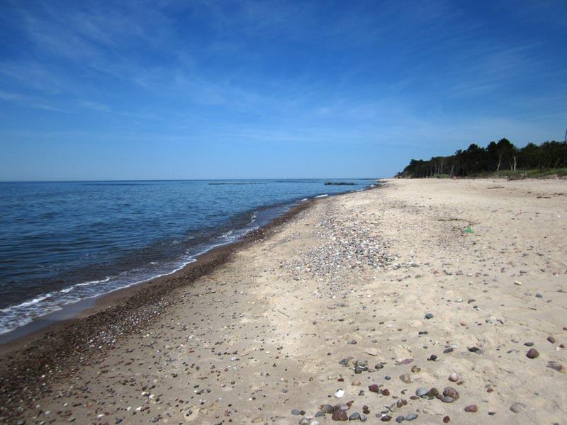 Plaża w Darłówku
