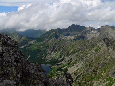 Widok na Dolinę Ciemnosmreczyńską