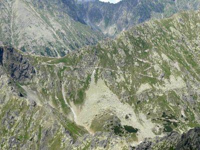 Fragment Ceprostrady - Szpiglasowa Przełęcz