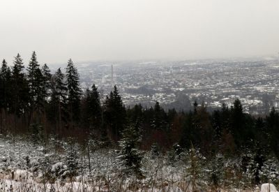 Widok na Bielsko-Biała