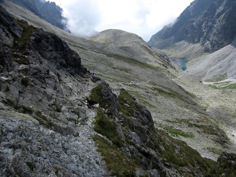 Szlak z Wielickiej Doliny na Polski Grzebień