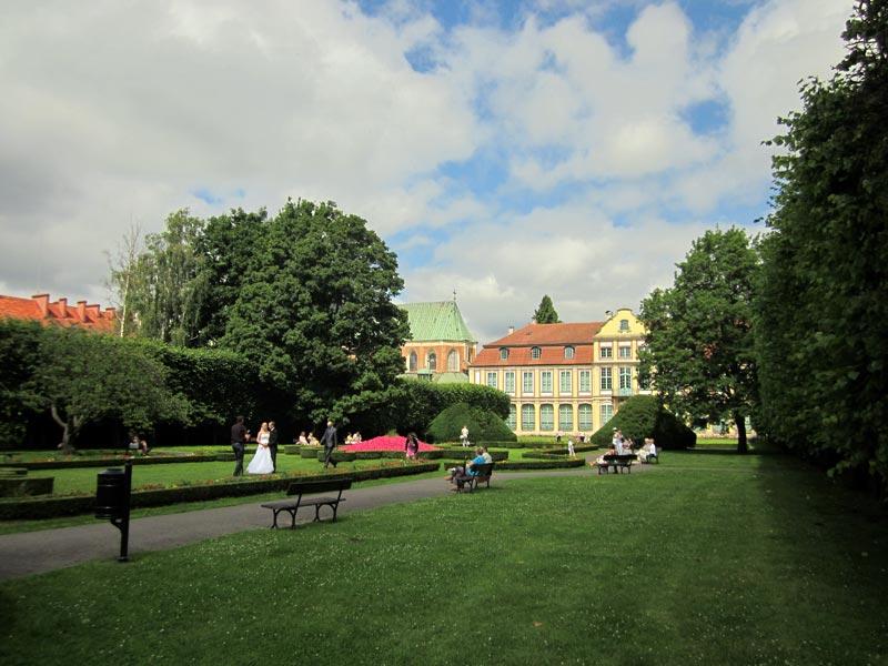Park w Oliwie