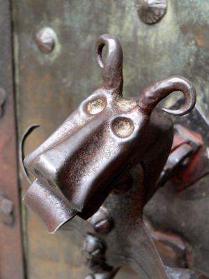 Klamka bramy Orawskiego Zamku