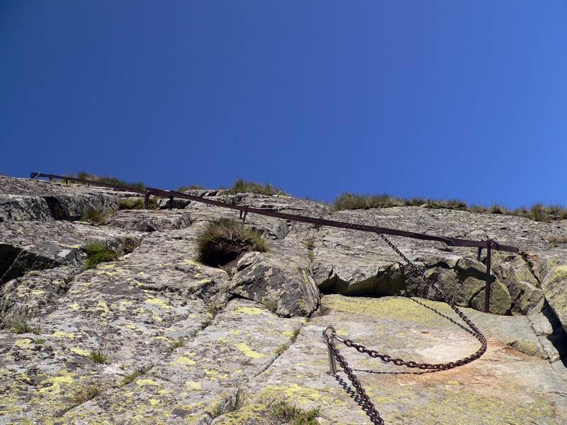 Drabinka przy Koziej Przełęczy
