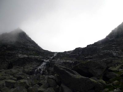 Szlak na Rysy wiedzie przez tą przełęcz