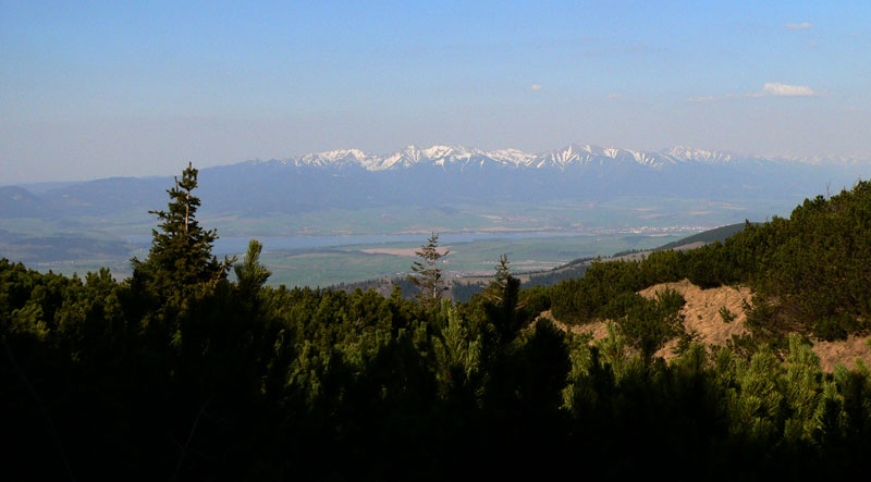 Tatry widoczne z Salatina