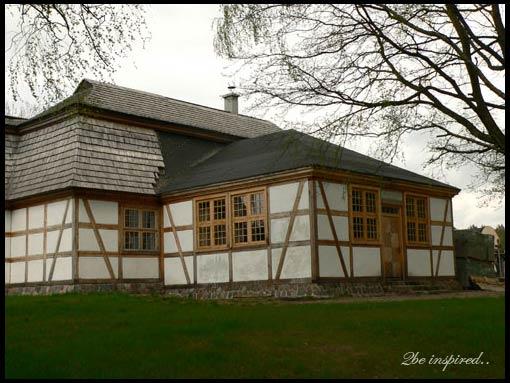 Szymbark - dom na dachu