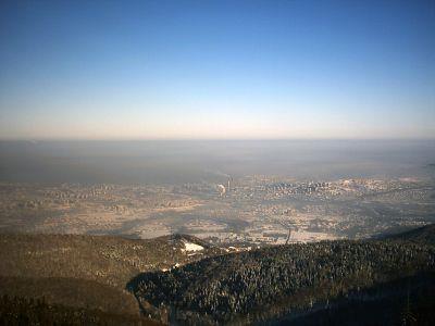 Widoki z Sahary na Bielsko