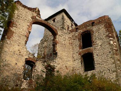 Wieża bramna i pomieszczenia dla straży fot. Lowell