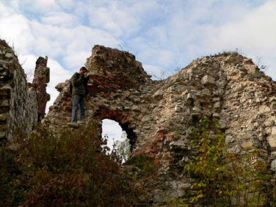 Ruiny bastei fot. Lowell
