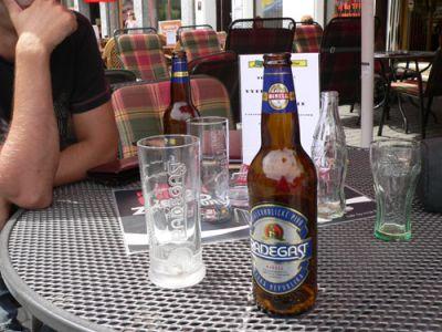 Słowackie piwo, tylko dlaczego bez procentów ;) Fot. Lowell