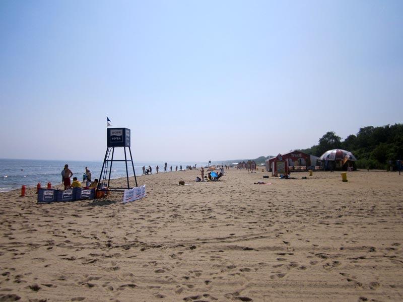 Plaża w Gdańsku - Jelitkowo