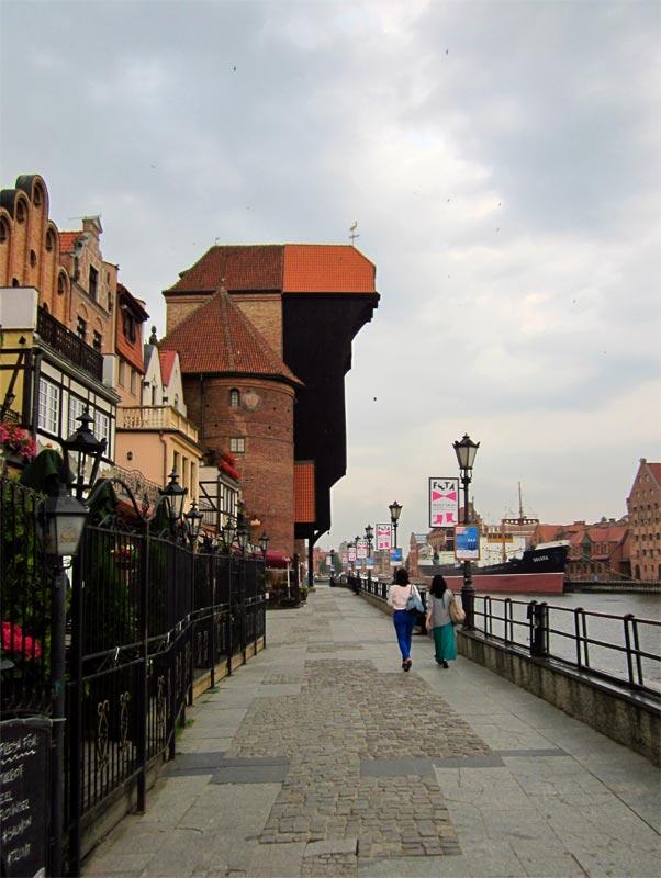 Żuraw w Gdańsku
