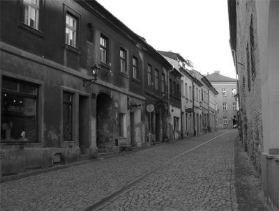 Ulica w pobliżu Starówki