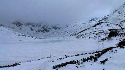 Dolina 5 Stawów zima