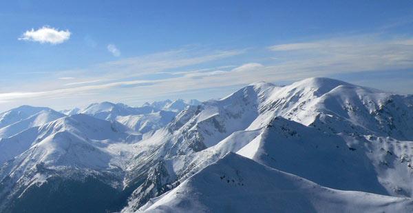 Goryczkowa Przełęcz nad Zakosy