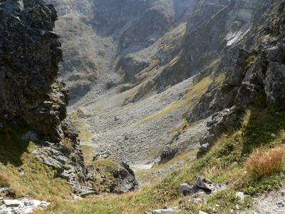 Dolina za mnichem i szlak na Wrota Chałbińskiego